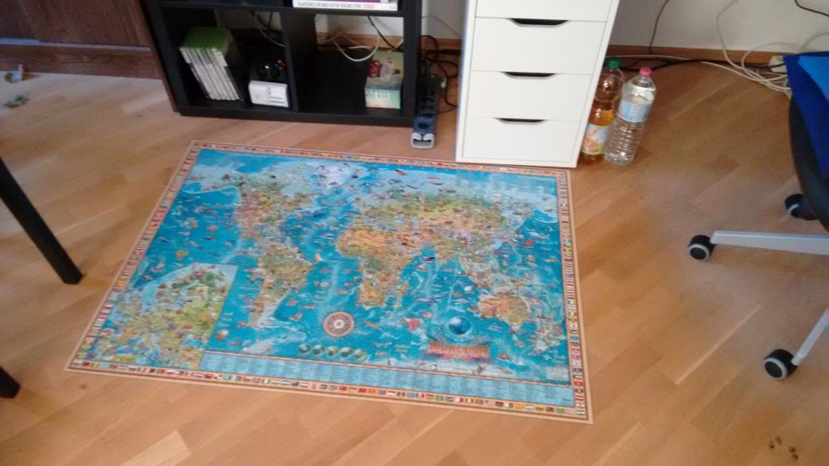 Puzzle fertig
