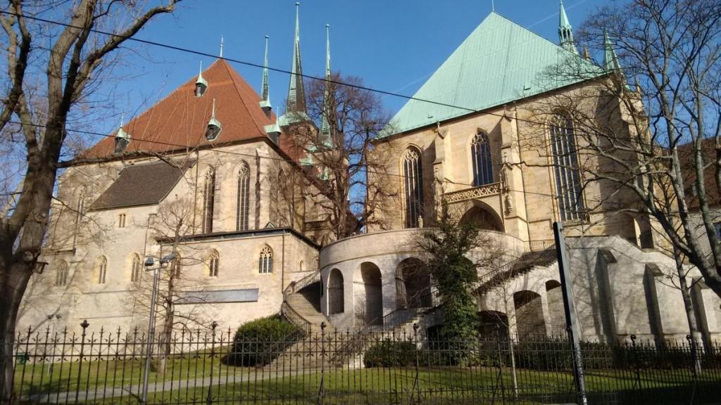 Der Dom in Erfurt