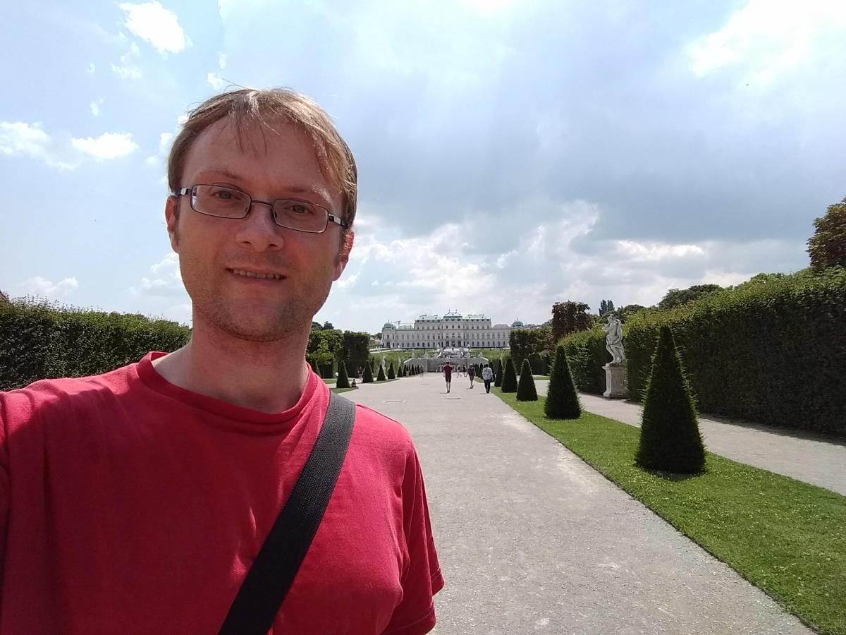 Martin am Schloss Belvedere