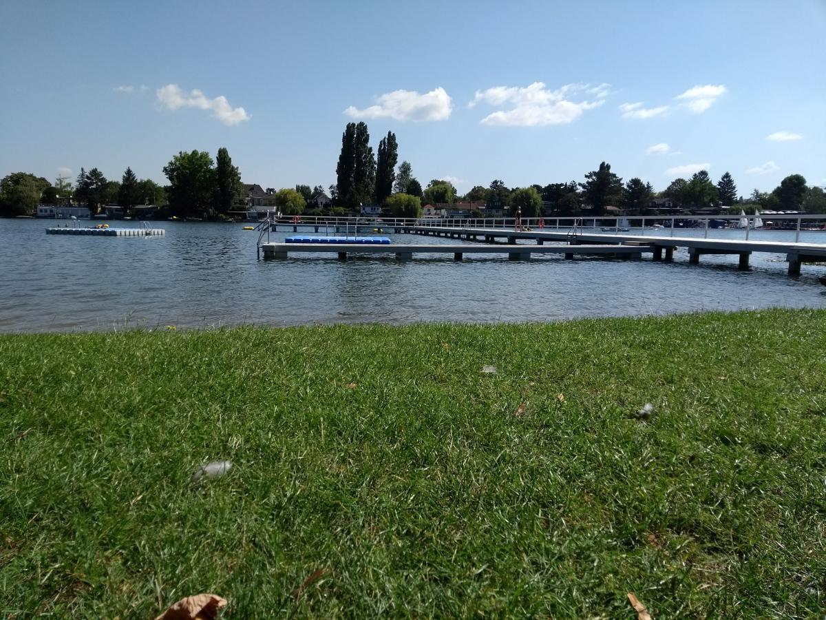 Relaxen im Strandbad Alte Donau