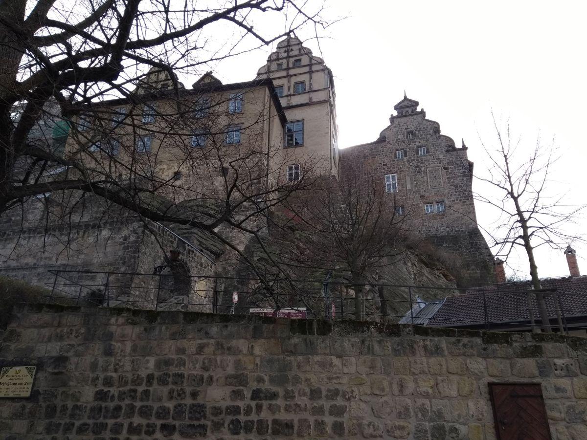Berg mit Stift Quedlinburg