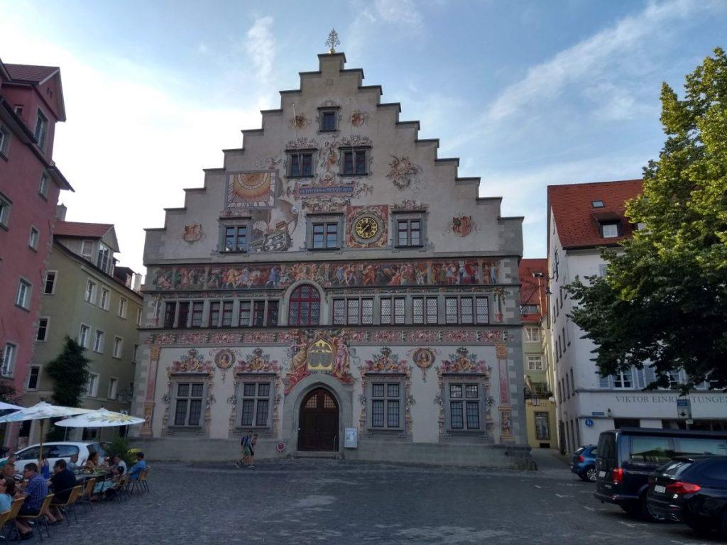 Das Rathaus von Lindau im Bodensee