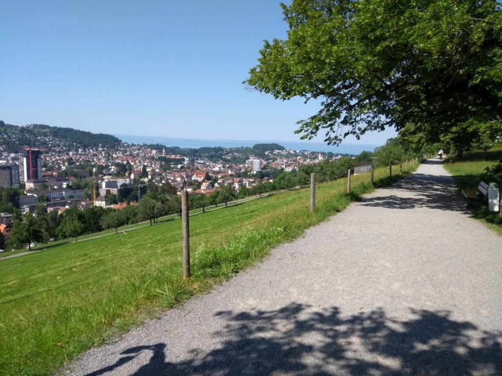 Panoramaweg über St. Gallen