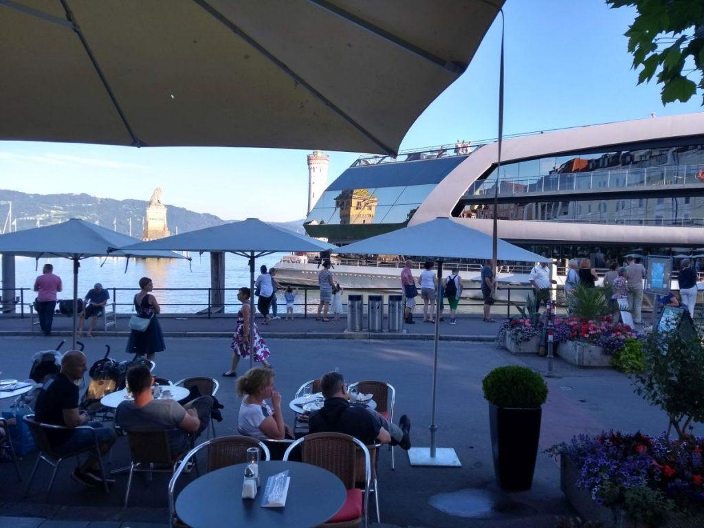 Die Sonnenkönigin im Hafen Lindau